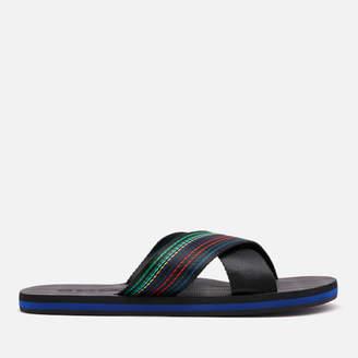 3aafe3d80 Paul Smith Men's Murphy Cross Front Sandals - Multi