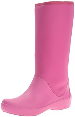crocs Women's Rain Floe Tall Boot $44.58 thestylecure.com
