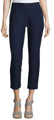 Eileen Fisher Washable Stretch-Crepe Ankle Pants $125 thestylecure.com