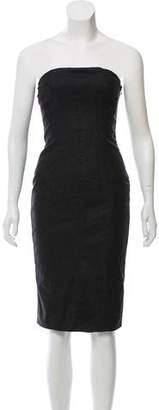Just Cavalli Strapless Corset Dress