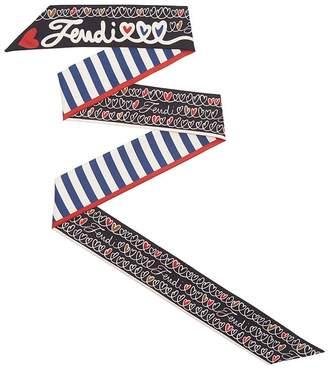 Fendi Wrappy Open Your Heart scarf