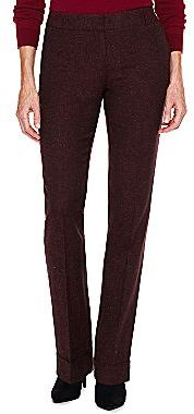 JCPenney Worthington® Modern-Fit Trouser-Leg Tweed Pants