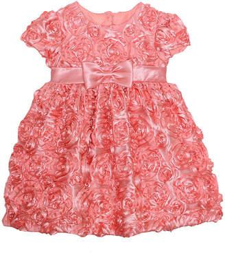 88632db5ff8da Marmellata Short Sleeve Floral A-Line Dress Girls