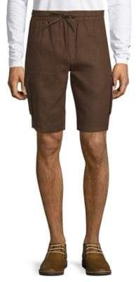 Saks Fifth Avenue Linen Cargo Shorts