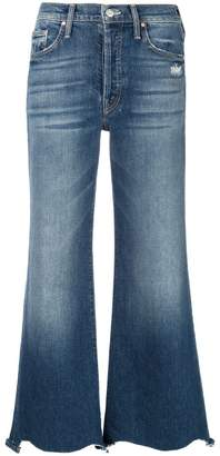 Mother Tomcat flared jeans