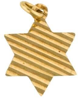 14K Star of David Pendant