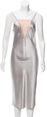 Fleur Du Mal Silk Slip Dress