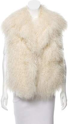 MICHAEL Michael Kors Shearling Knitted Vest