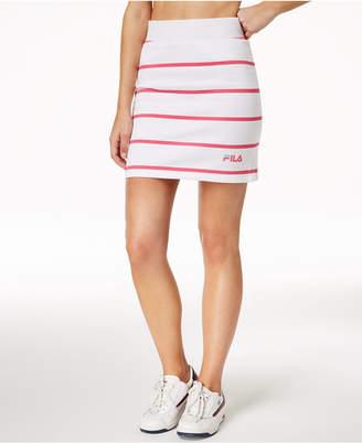 Fila Lili Striped Mini Skirt