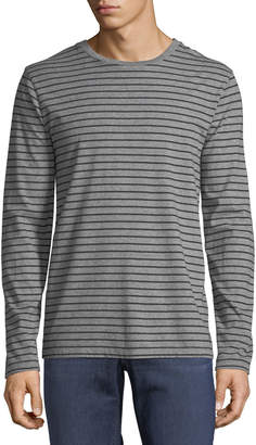 Frame Men's Long-Sleeve Striped Cotton T-Shirt