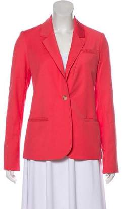 Elizabeth and James Notch Lapel Long Sleeve Blazer