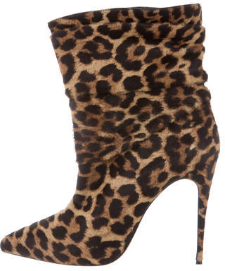 Christian Louboutin Christian Louboutin Ponyhair Ankle Boots