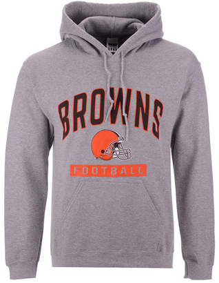 Authentic Nfl Apparel Men Cleveland Browns Gym Class Hoodie