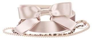 Chanel Multi-Strand Bow Belt