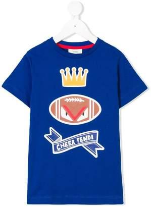 Fendi cheer print T-shirt
