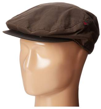 Woolrich Oil Cloth Ivy Cap with Fleece Earlap Caps