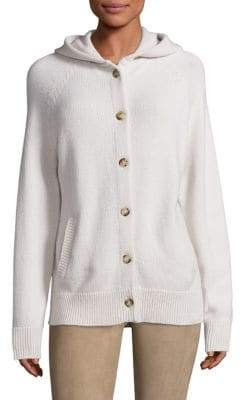 The Row Runi Cashmere Hooded Cardigan