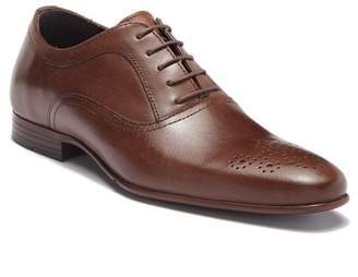 Kenneth Cole Reaction Perforated Brogue Leather Oxford