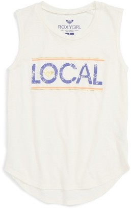 Girl's Roxy Live Local Muscle Tee $18 thestylecure.com