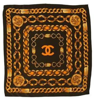 Chanel CC Chain-Link Scarf