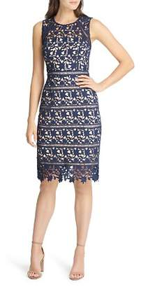 Eliza J Lace Sheath Dress