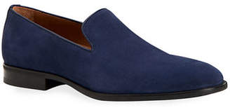 46866a1bef7 Aquatalia Men s Aiden Suede Slip-On Loafers