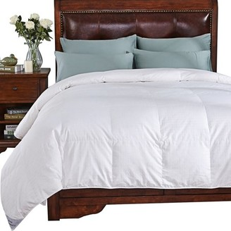 Peace Nest Luxurious lightweight Down Comforter, Full/Queen, White