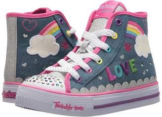 Skechers Twinkle Toes: Shuffles 10874L Lights Girl's Shoes
