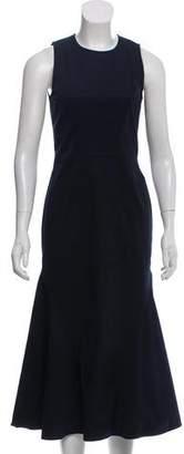 Cédric Charlier Sleeveless Midi Dress
