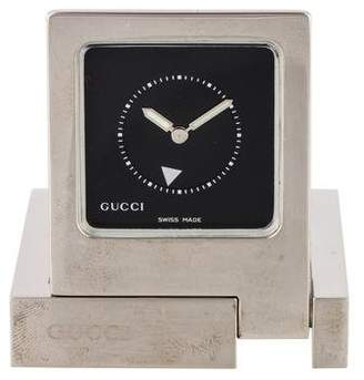 Gucci Travel Alarm Clock