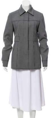 Jason Wu Houndstooth Collared Jacket