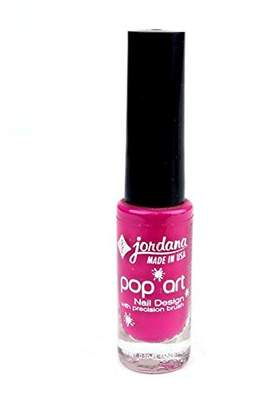 Jordana Pop Art Nail Design With Precision Brush Picture Perfect