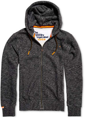 Superdry Men's Heathered Zip-Front Hoodie