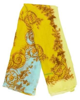Versace Silk Print Scarf