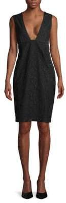 Tomas Maier Floral & Eyelet Lace Sheath