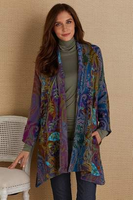Soft Surroundings Violette Paisley Jacket