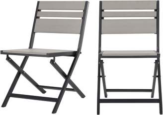 Polywood Set Of 2 Catania Bistro DInIng Chairs,