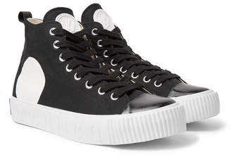McQ Printed Canvas High-Top Sneakers