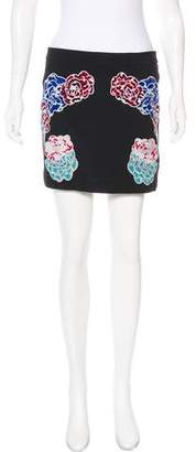 Stella McCartney Embroidered Mini Skirt