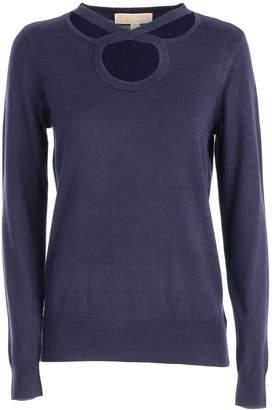 MICHAEL Michael Kors Cross Neck Sweater