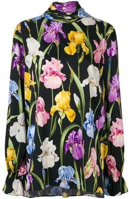 Dolce & Gabbana floral-print blouse