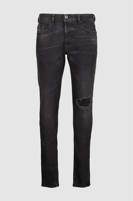 Next Mens Diesel Black Washed Carrot Fit Jean