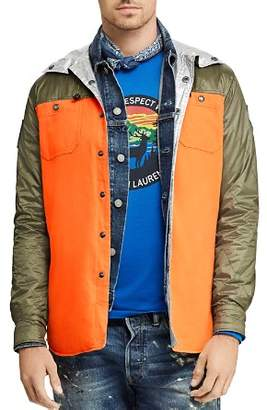 Polo Ralph Lauren Reversible Hooded Shirt Jacket
