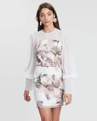 Colette Bishop Sleeve Mini Dress