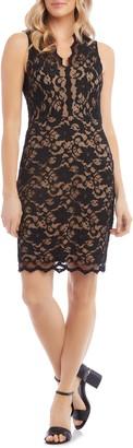 Karen Kane Lace Cocktail Dress