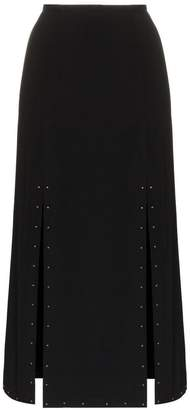 See by Chloe Studded slit midi skirt