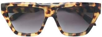 Victoria Beckham squared tinted sunglasses