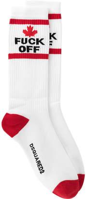 DSQUARED2 F*** off socks