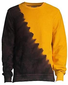 PRPS Men's Two-Tone Tie Dye Sweatshirt