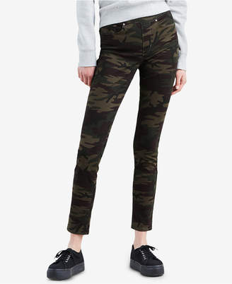 Levi's Skinny Perfectly Slimming Pull-On Camo Jeggings